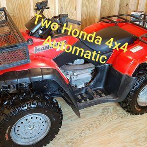 Honda 4x4 Quad Automatic ATV 4-Wheeler for Sale in Northlake, TX