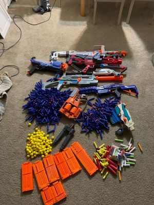 Nerf Gun collection!!! for Sale in Evesham Township, NJ