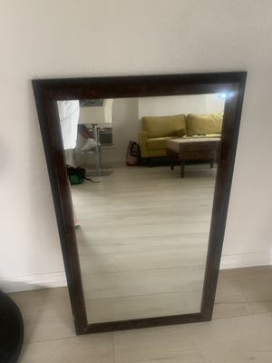 Wall mirror , brown for Sale in Los Angeles, CA