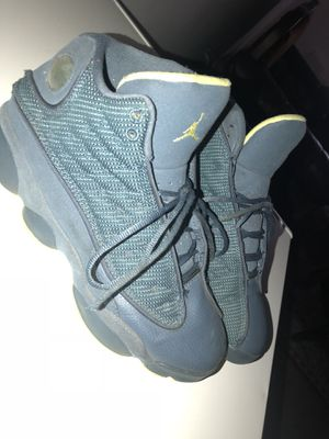 Jordan 13s Navy Blue Neon SZ 7 for Sale in Silver Spring, MD