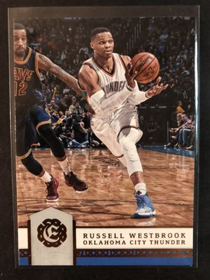 Russell Westbrook 2016 Panini Excalibur Basketball Card. Russell Westbrook Oklahoma City Thunder Basketball Trading Card for Sale in Chicago, IL