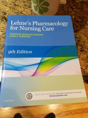 Lehne's Pharmacology for Nursing Care for Sale in Seattle, WA