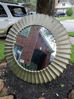 Circular Round Mirror for Sale in Richmond, TX