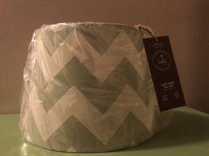 💁♀️PLAIN JANE LAMP SHADE (grey) for Sale in Inkster, MI