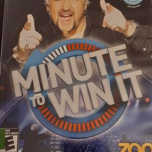 MINUTE To WIN IT (Nintendo Wii + Wii U) for Sale in Lewisville, TX
