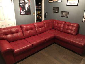 Sectional Sofa + single sofa (all red) for Sale in Marietta, GA