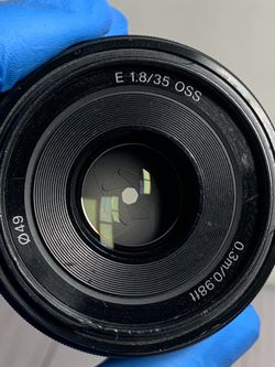 Sony E 35mm f/1.8 OSS Lens for Sale in San Jose,  CA