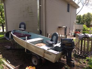 14' Aluminum Fishing Boat for Sale in Rolling Meadows, IL