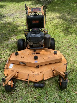 "Scag 48"" walk behind Hydro drive $1100 obo for Sale in Deltona, FL"