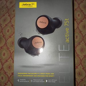 Jabra Elite Active 75T Copper Black Bluetooth Ear Buds for Sale in Phoenix, AZ