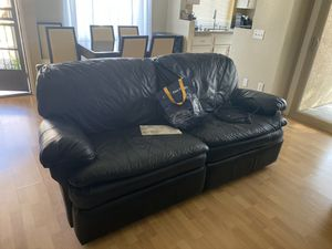 Reclining leather sofas for Sale in San Diego, CA