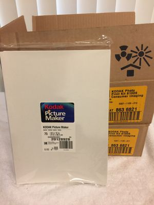 """75 Sheets Kodak Picture Maker 8.5"""" X 12"""" Printer Photo Paper - New Sealed Packs @ $15 Per Pack👌 & 5 Packs available...✔️ for Sale in Boynton Beach, FL"""