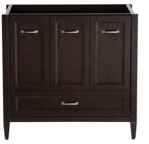 Home Decorators Collection Claxby 36 in. Vanity in Chocolate for Sale in Sunbury, OH