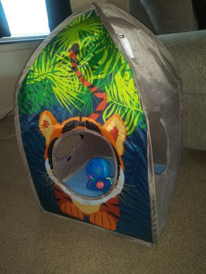 Bounce house, cat ball & cat nip mouse toy for Sale in Fort Wayne, IN