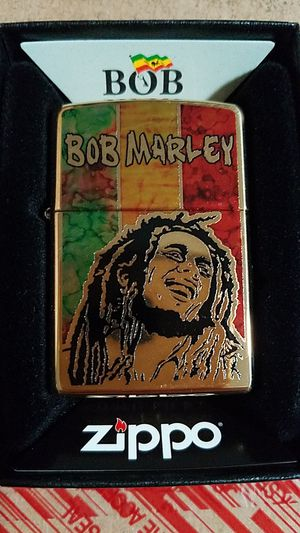 Zippo Bob Marley high polished brass 29490 for Sale in Los Angeles, CA