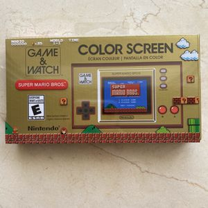 Nintendo Game and Watch Super Mario Bro for Sale in Miami, FL