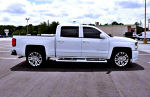 🙏 _2O16 SILVERADO 1500 Bumpers: chrome for Sale in Sheboygan, WI