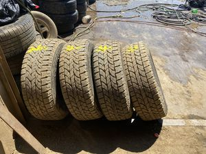Used tires 245/65/17 for Sale in Waterbury, CT