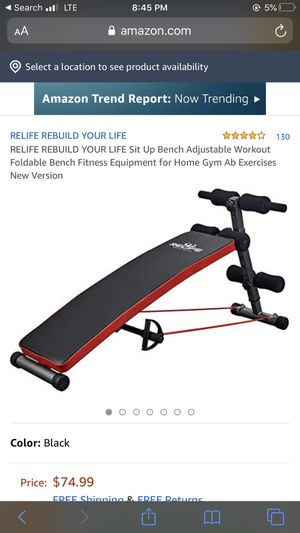 Brand new sit up bench for Sale in West Chicago, IL