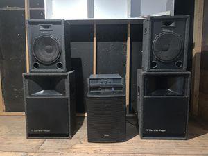 Dj speakers, Cerwin-Vega , Amplifiers, equipment for Sale in Phoenix, AZ