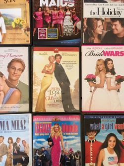 Romantic Comedy DVDs Bridesmaids, The Holiday , Legally Blonde And More $1 Each for Sale in Issaquah,  WA