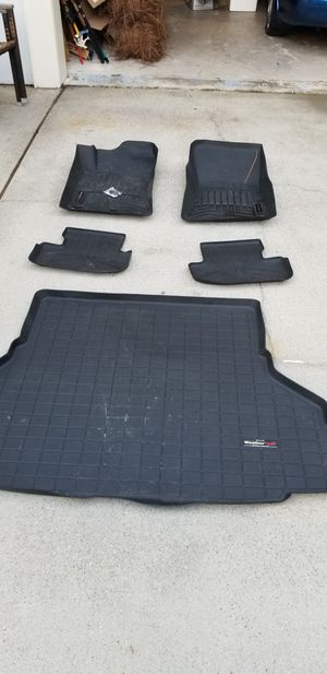 Weathertech laser cut floormats for Ford Mustang for Sale in FL, US
