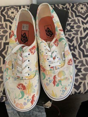 (Disney) Ariel/white vans for Sale in Anaheim, CA