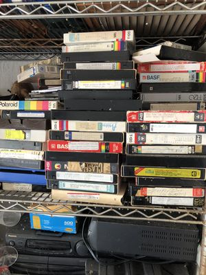 Old movies and electronics for Sale in Hialeah, FL