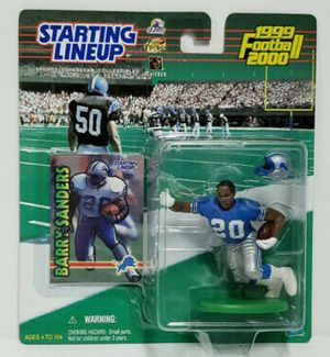 Barry Sanders 1999 Starting Lineup Action Figure New for Sale in Baltimore, MD