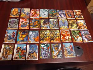 X-Men & Dragon Ball Z .. Retro cards from the 90's for Sale in Jurupa Valley, CA