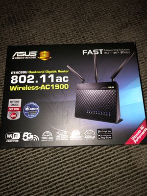 Asus WiFi Router for Sale in Seattle, WA