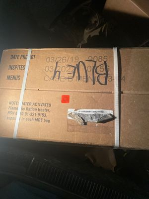 Sealed MRE box for Sale in Oceanside, CA