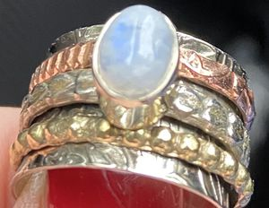Moonstone and silver 925 ring for Sale in Seattle, WA
