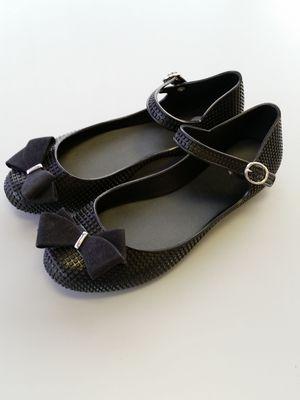 Dreamed by Melissa black women's rubber flat shoe for Sale in Rockville, MD