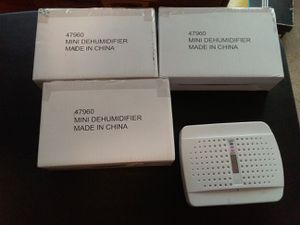 4 Pack of Mini Dehumidifiers for Sale in Mesa, AZ