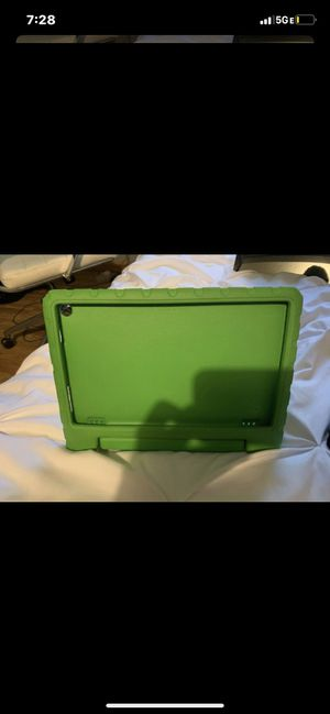 """Lime Green Kindle Fire Hd 10"""" Stand Up case for Sale in Fort Lauderdale, FL"""