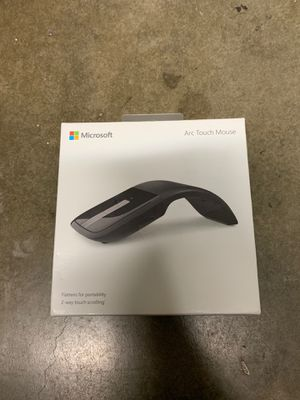 BRAND NEW! Microsoft Arc Touch RVF-00052 Wireless Bluetrack Mouse, Black for Sale in Walnut, CA