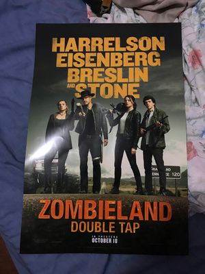 Zombieland 2 poster for Sale in Universal City, CA