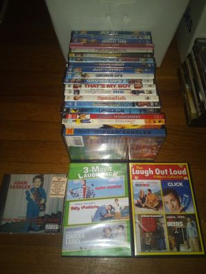 Adam Sandler Collection 26 movies and CD for Sale in Kingsport, TN