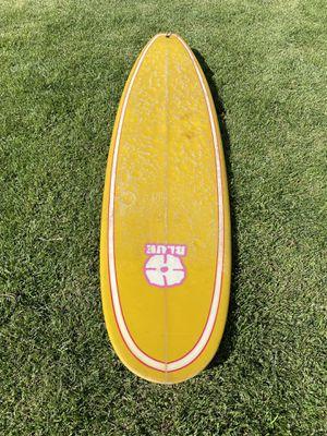 Blue Surfboard 7'2 fiberglass for Sale in Los Angeles, CA