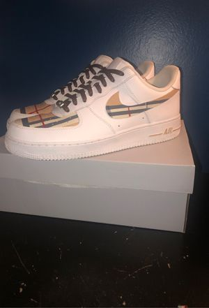 BURBERRY Air Force 1s for Sale in Monroe Township, NJ