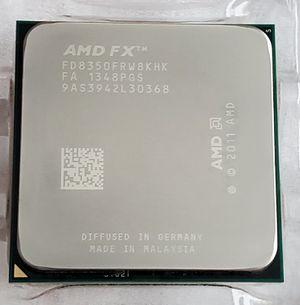 AMD FX-8350 Black Edition CPU for Sale in Bremerton, WA