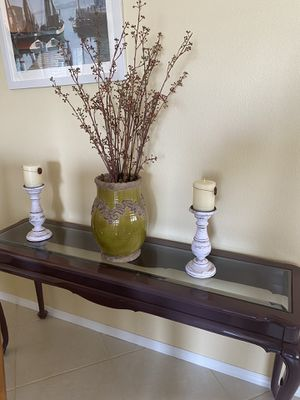 Console table and end table for Sale in Jupiter, FL