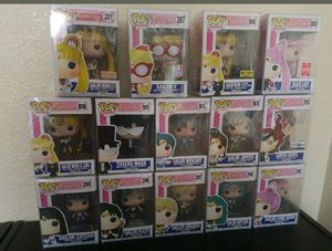 Sailor moon Funko pop collection vinyl toy dolls for Sale in Chowchilla, CA