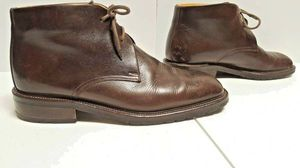 Gordon Rush Brown Leather Chukka Boot - Made in Italy for Sale in Boulder, CO