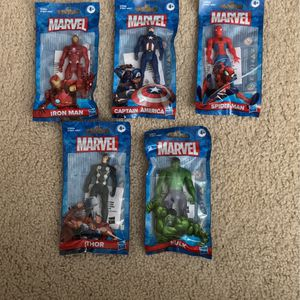 Hasbro Marvel Avengers 3.75 Inch 5 Action Figures for Sale in Homestead, FL