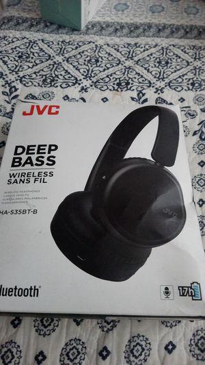 Jvc deep base wireless headphones for Sale in Fresno, CA