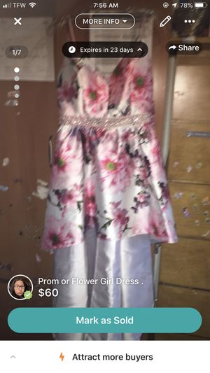 prom or flower girl dress . for Sale in Brooklyn, NY
