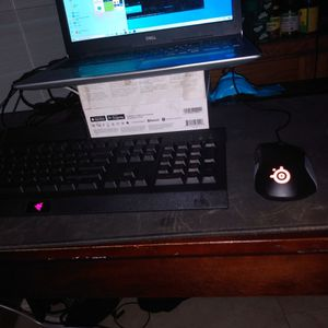 Razer Cynosa Lite Keyboard And Gaming Mouse for Sale in Punta Gorda, FL