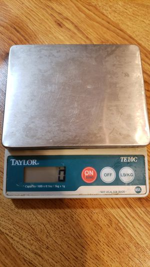 Digital Scale Taylor for Sale in Westminster, MD